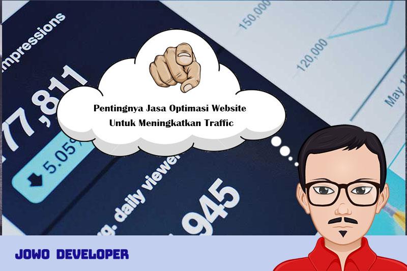 Pentingnya Jasa Optimasi Website Untuk Meningkatkan Traffic