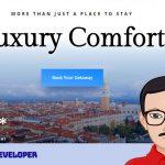 Desain Website Penginapan Resort