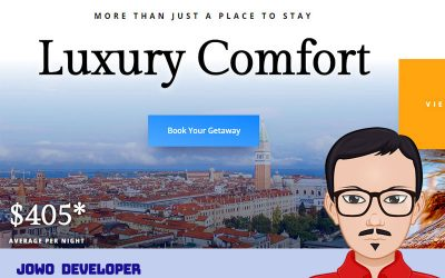 Desain Website Penginapan Resort V.1 Telah Rilis