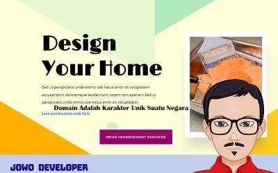 Kabar Gembira! Desain Website Renovasi Rumah Telah Rilis
