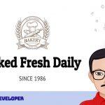 Desain Website Toko Roti Modern