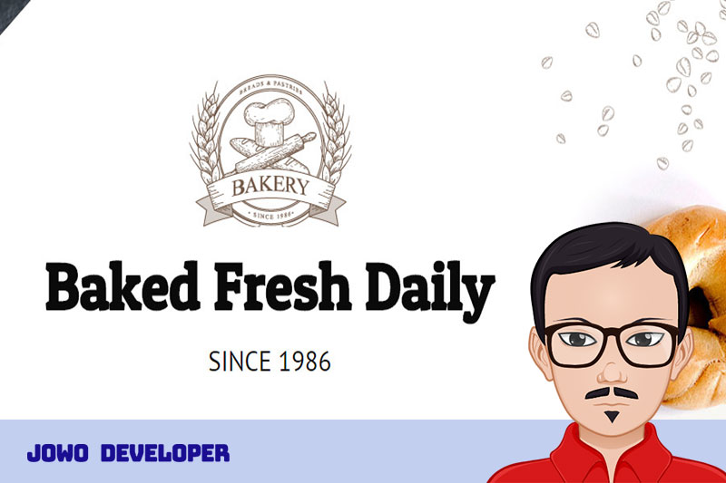 Telah Rilis Desain Website Toko Roti Modern