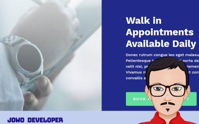 Punya Klinik Kesahatan? Saatnya buka website. Desain Terbaru Nih!