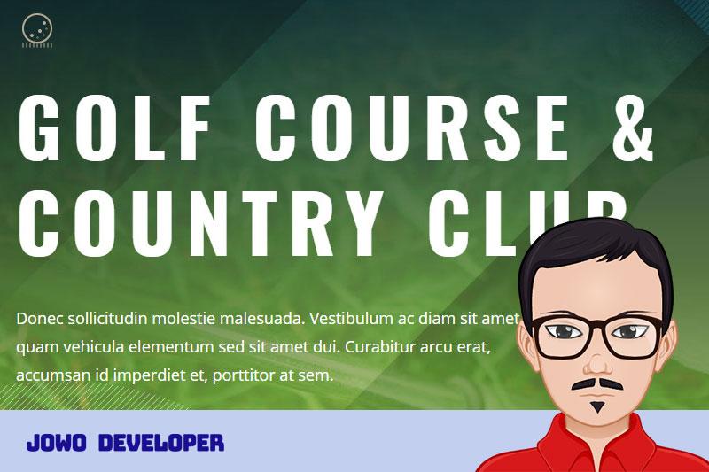 Punya Keahlian Golf? Saatnya membuat web Kursus Golf Master