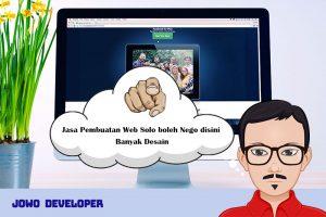 Jasa Pembuatan Web Solo boleh Nego disini Banyak Desain